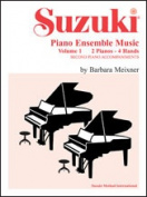 Alfred 00-0750 Suzuki Piano Ensemble Music- Volume 1 for Piano Duo - Music Book