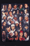 Hot Stuff 1108-16x20-MU Rap Legends Poster
