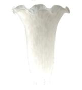 Meyda Tiffany 25905.5cm W X 12.7cm H White Lily Shade