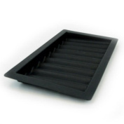 9 Row Chip Tray - black