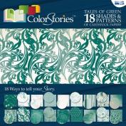 Blue Hills Studio BHS10301 30cm . x 30cm . Paper Pack - Green