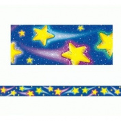 Teacher Created Resources TCR4081 Shooting Stars Straight Border Trim