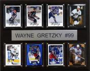C & I Collectables 1215GRETZKY8C NHL Wayne Gretzky Edmonton Oilers 8 Card Plaque