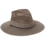 Dorfman Pacific 544717 Big Brim Safari Hat Olive - X-Large