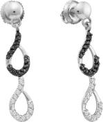 Gold and Diamonds EWZA1086-W 0.34CT-DIA FASHION EARRING- Size 7