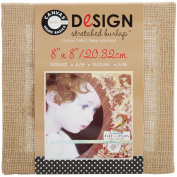 Canvas Corp 468744 Stretched Burlap-Natural 20cm . x 20cm .