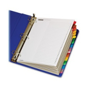 Cardinal Brands- Inc CRD60118 One Step Index System- Daily- 1-31 Tab- Multicolor