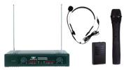 Pyle P Microphone Wireless 2 Ch VHF - PDWM2700