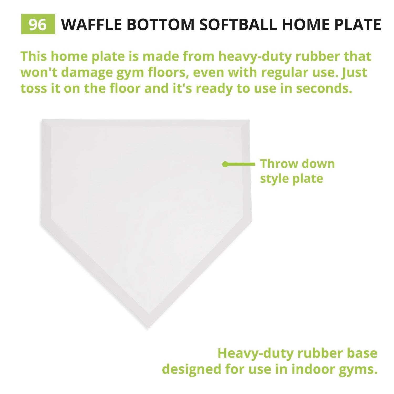 MacGregor Rubber Home Plate Original version
