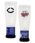 Minnesota Twins Official MLB Crystal Pilsner Glass by Duck House 255095