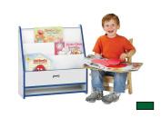 Jonti-Craft 0071JCWW119 Toddler Pick-A-Book Stand - 1 Sided - Green