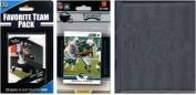 C & I Collectables 2012EAGLESTSC NFL Philadelphia Eagles Licenced 2012 Score Team Set and Favourite Player Trading Card Pack Plus Storage Album