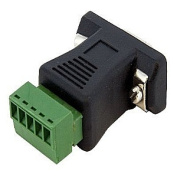 StarTech.com DB92422 RS422 RS485 Serial DB9 to Terminal Block Adapter