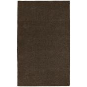 Garland Rug BRC-0056-14 Room Size 5 ft. x 6 ft. Bathroom Carpet Chocolate