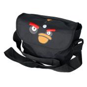 Blancho Bedding MB-AG-BLACK Angry Birds - Black Multi-Purposes Messenger Bag / Shoulder Bag