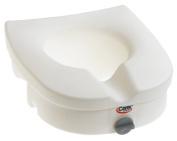 Carex Health Brands B312C0 E-Z Lock Raised Toilet Seat *Cp