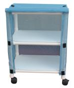 MJM International E325-2C Echo Linen Cart