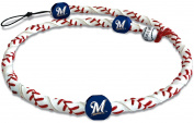 Gamewear 844214025257 Milwaukee Brewers Classic Frozen Rope Necklace- MLB