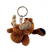 Puzzled 5811 Plush Keychain - Moose