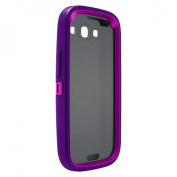 Otterbox Defender Cell Phone Case for Samsung Galaxy SIII - Purple