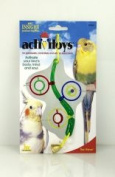J W PET COMPANY 209065 Insight The Wave Small Bird Toy - Assorted Colors