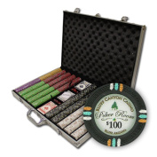 Brybelly Holdings PCS-3306 1000Ct Claysmith Gaming Bluff Canyon Chip Set in Aluminium