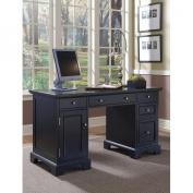 Bedford Pedestal Desk - Black