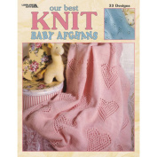 Leisure Arts 307223 Leisure Arts-Our Best Knit Baby Afghans