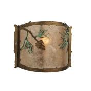 Meyda Tiffany 109902 30.5cm . W Balsam Pine Wall Sconce