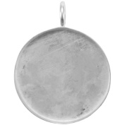 Amate Studios PN-002 Base Elements Circle Pendant Base 1/Pkg