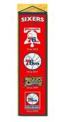 Winning Streak Sports 48007 Philadelphia 76ers Heritage Banner