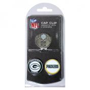 Team Golf 31047 Green Bay Packers Golf Ball Marker Hat Clip