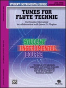 Alfred 00-BIC00303A Student Instrumental Course- Tunes for Flute Technic- Level III - Music Book