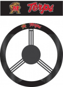 Fremont Die 58536 Maryland Terrapins- Poly-Suede Steering Wheel Cover