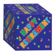 Beistle 54421 Retirement Card Box