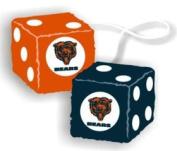 Casey 2324598001 Chicago Bears Fuzzy Dice