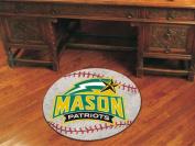 FANMATS 4705 George Mason Baseball Rugs 70cm . diameter