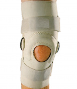 MAXAR Airprene (Breathable Neoprene) Pull-On Knee Brace - Double-Pivot Hinge - X-Large
