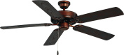 Maxim Lighting 89915OI Basic-Max 52 Outdoor Ceiling Fan - Oil Rubbed Bronze