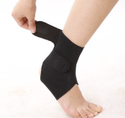Infraredcare 81006 Self Heat Tourmaline Ankle Brace-pair