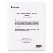 Alpha Omega Publications JMW065 Student worksheet packet