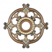 Livex Lighting 8216-57 Ceiling Medallions, Accessory, Venetian Patina