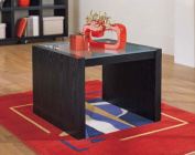 Organize It All 39311 Dusk Coffee Table With Glass Top
