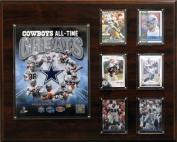 C & I Collectables 1620COWBOYSGR NFL 12 X 15 Dallas Cowboys 16 x 20 All-Time Greats Photo Plaque
