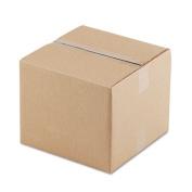Corrugated Kraft Fixed-Depth Shipping Carton, 12w x 12l x 10h, Brown, 25/Bundle