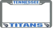 Caseys Distributing 9474619539 Tennessee Titans Chrome Licence Plate Frame