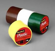 3m 6 Count 1-. 130cm X 320cm Scotch Blue Plastic Tape 191BL - Pack of 6
