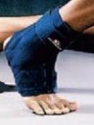 M-Brace 17S Ankle Stabiliser - Blue - Size Small