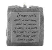 Kay Berry 03320 If Tears Could Build...Single-Short Votive Holder