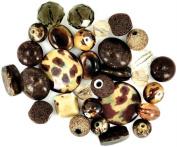 Inspirations Beads 50 Grammes-Brown Sugar